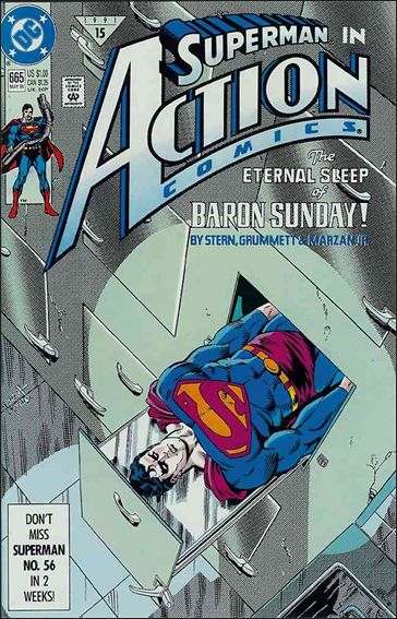 Action Comics (1938) 665-A by DC