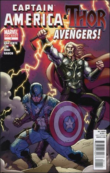 Captain America & Thor: Avengers 1-A by Marvel