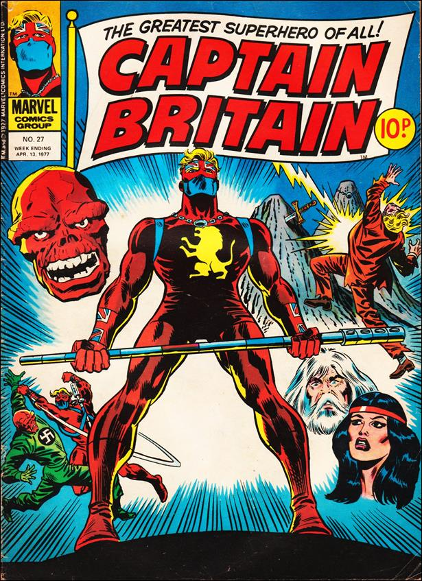 Captain Britain (UK) (1976) 27-A by Marvel UK