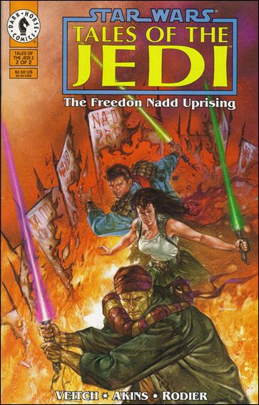 Star Wars: Tales of the Jedi - The Freedon Nadd Uprising 2-A by Dark Horse
