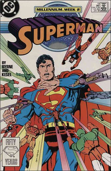 Superman (1987) 13-A by DC