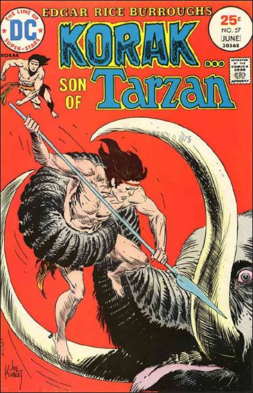Korak, Son of Tarzan 57-A by DC