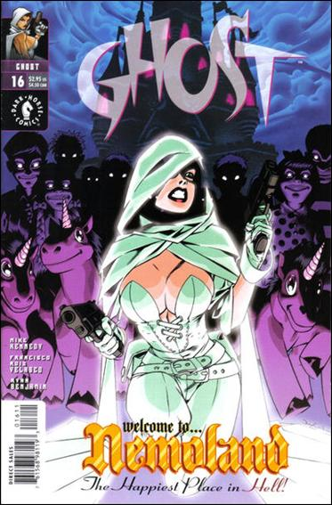 Ghost (1998) 16-A by Dark Horse