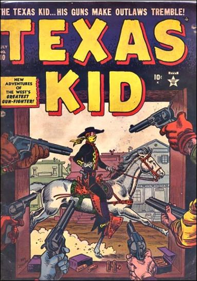 Texas Kid 10-A by Marvel