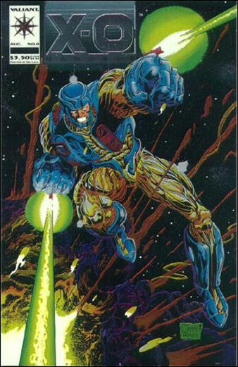 X-O Manowar (1992) 0-A by Valiant