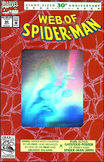Web of Spider-Man (1985) 90-C by Marvel