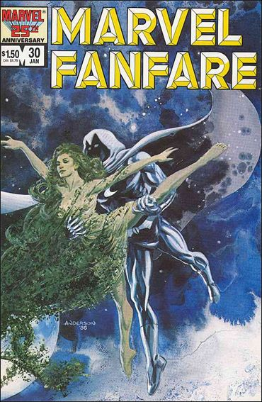 Marvel Fanfare (1982) 30-A by Marvel