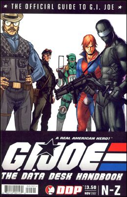 G.I. Joe The Data Desk Handbook 2-A by Devil's Due