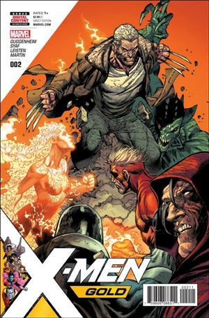 X-Men: Gold (2017) 2-A
