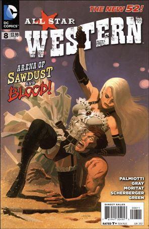 All Star Western (2011) 8-A