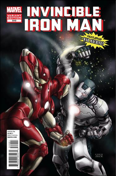 Invincible Iron Man (2008) 510-B by Marvel