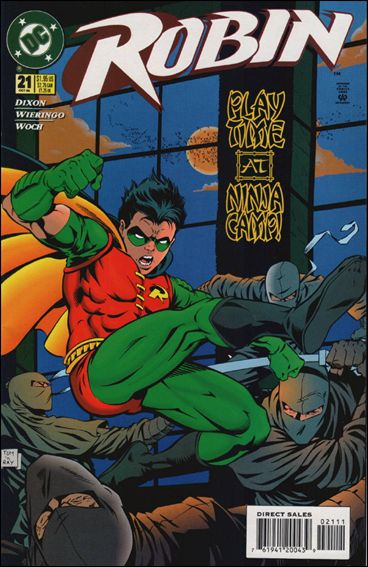 Robin (1993) 21-A by DC