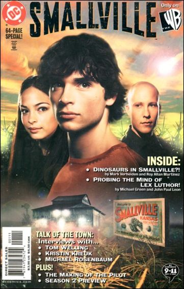Smallville: The Comic 1-A by DC