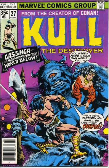 Kull the Destroyer 27-A by Marvel