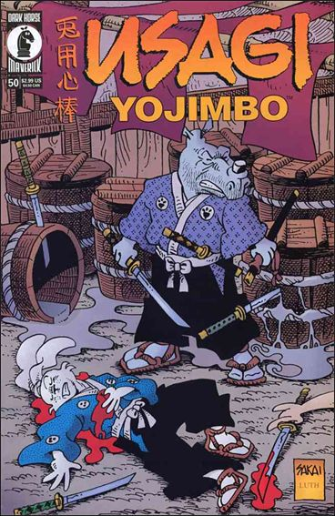 Usagi Yojimbo (1996) 50-A by Dark Horse