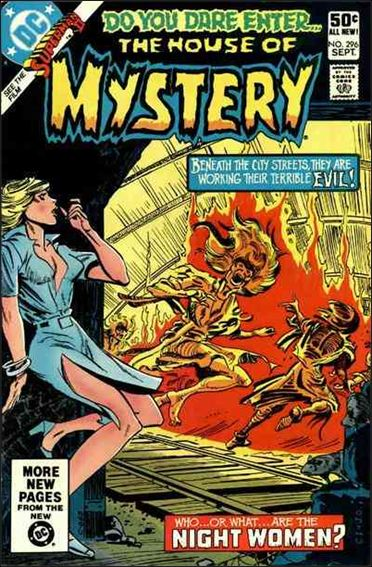 House of Mystery (1951) 296-A by DC