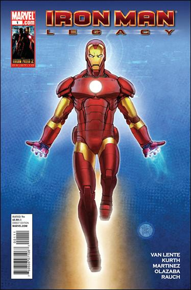 Iron Man Legacy 1-A by Marvel