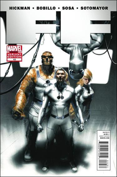FF (2011) 12-B by Marvel