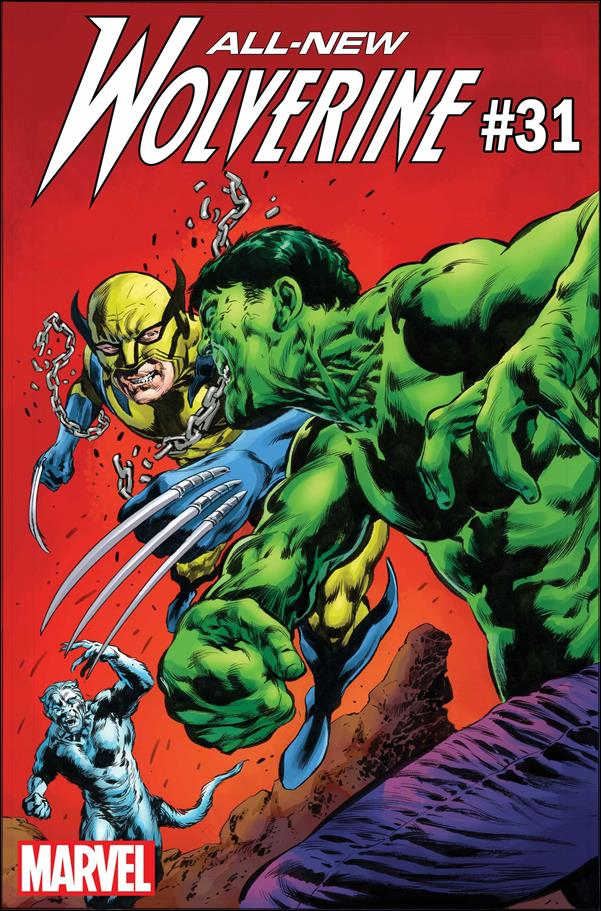 All-New Wolverine  31-B by Marvel
