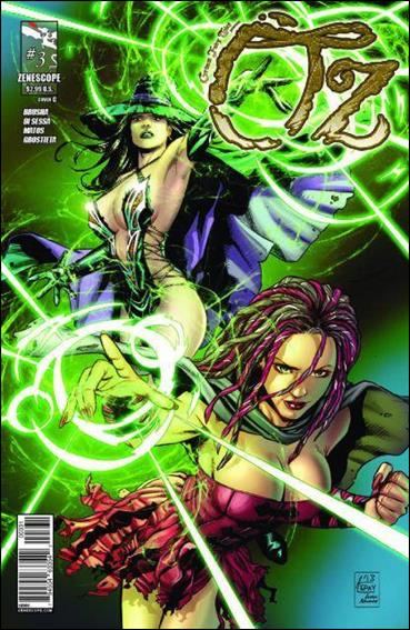 Grimm Fairy Tales Presents Oz 3-C by Zenescope Entertainment