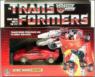 Transformers: More Than Meets the Eye (Generation 1) Sideswipe (Autobot Warrior) by Hasbro