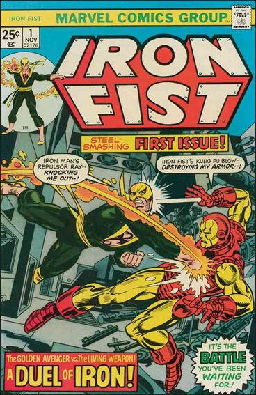 Iron Fist (1975) 1-A by Marvel