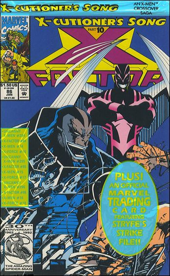 X-Factor (1986) 86-A by Marvel