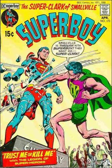Superboy (1949) 173-A by DC