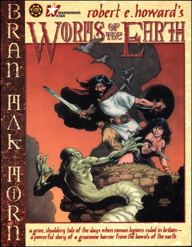 Robert E Howard's Worms of the Earth 1-A by Cross Plains Comics
