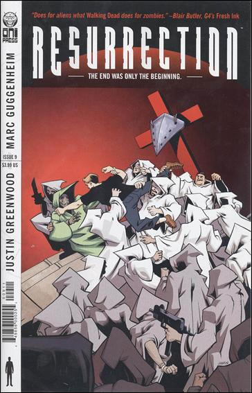 Resurrection (2009) 9-A by Oni Press