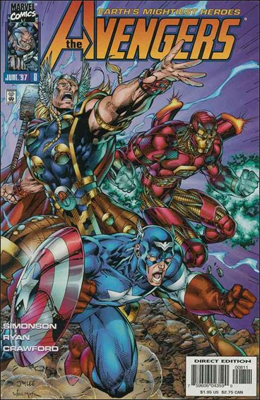 Avengers (1996)   8-A by Marvel
