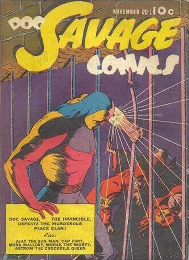Doc Savage Comics (1940) 6-A by Street and Smith Publications