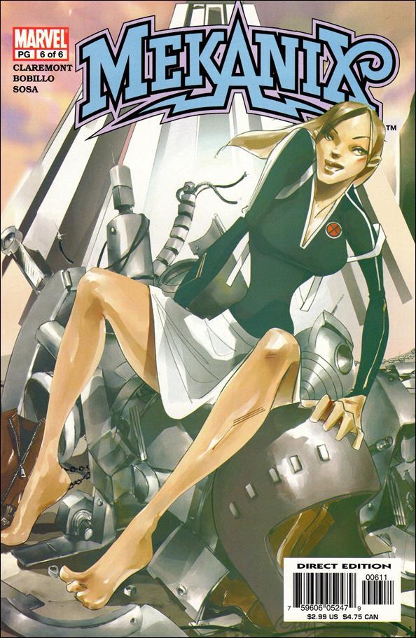 Mekanix 6-A by Marvel