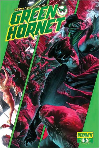Green Hornet (2010) 5-A by Dynamite Entertainment