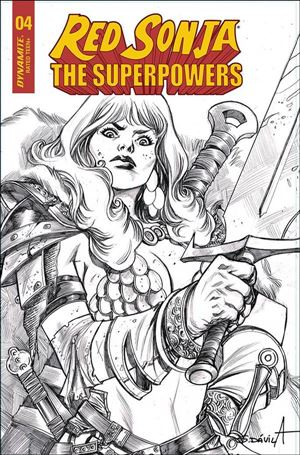 Red Sonja: The Superpowers 4-M
