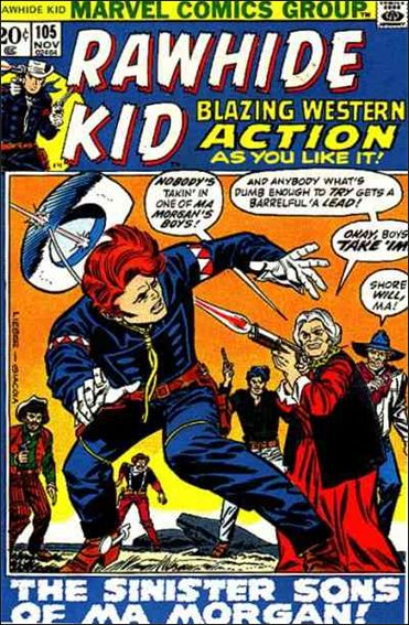 Rawhide Kid (1955) 105-A by Marvel