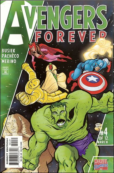 Avengers: Forever 4-CC by Marvel