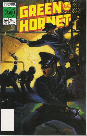 Green Hornet (1989) 4-A by Now Comics