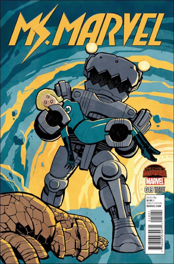 Ms. Marvel (2014)  19-B by Marvel