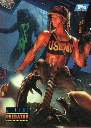 Aliens/Predator Universe (Promo) P2-A by Topps