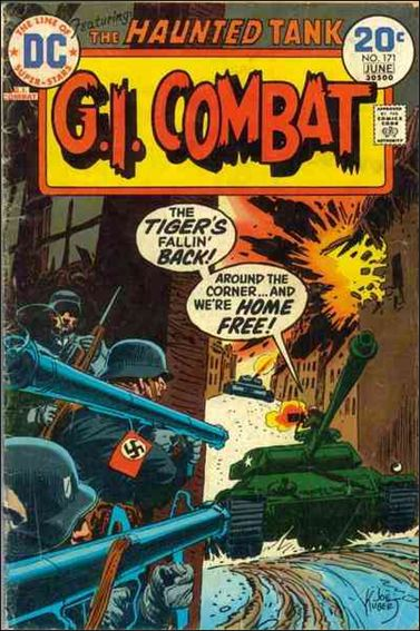 G.I. Combat (1952) 171-A by DC