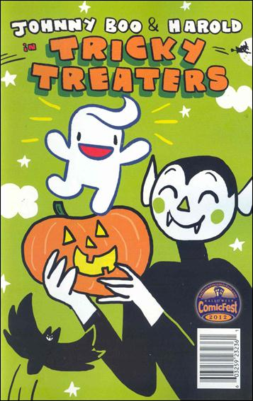 Johnny Boo & Harold in Tricky Treaters nn-A by Top Shelf