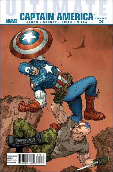 Ultimate Captain America 3-A by Marvel