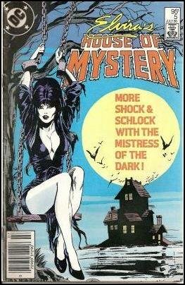 Elvira's House of Mystery 5-B by DC