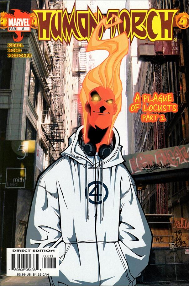Human Torch (2003) 8-A by Marvel