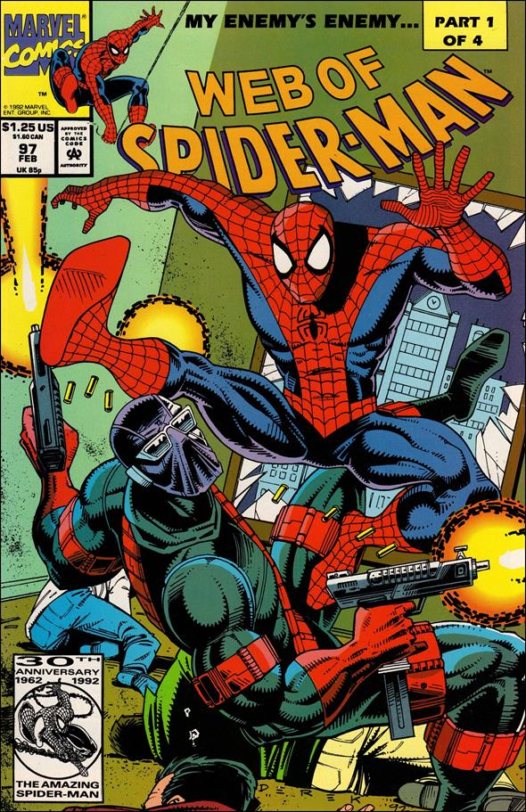 Web of Spider-Man (1985) 97-A by Marvel