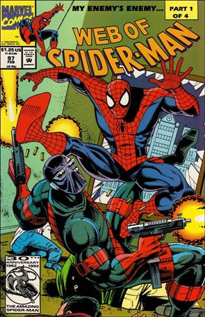 Web of Spider-Man (1985) 97-A