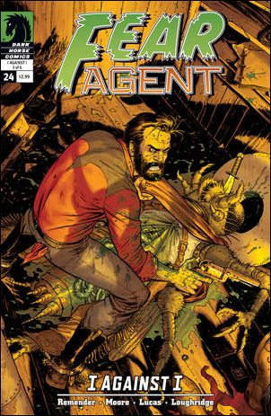 Fear Agent (2007) 24-A by Dark Horse