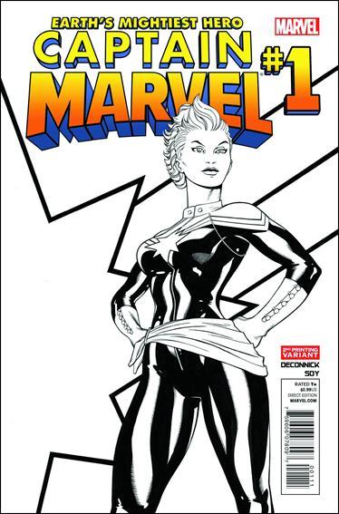 Captain Marvel (2012) 1-D by Marvel