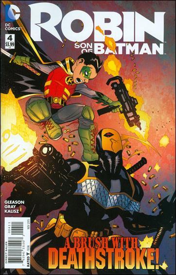 Robin: Son of Batman 4-A by DC